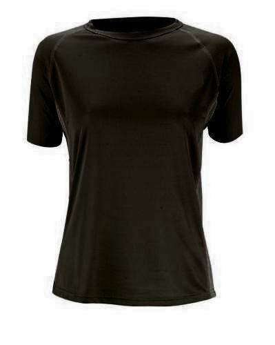 Trekmates Bamboo Ladies T-Shirt Base-Layer Black