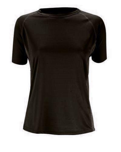 Trekmates Bamboo Ladies T-Shirt Base-Layer Black