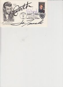 MULTI-SIGNED-OFFICIAL-JAMES-DEAN-FIRST-DAY-COVER