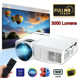 3000-Lumens-1080P-Full-HD-LED-Projector-Video-Office-Home-Theater-TV-USB-VGA