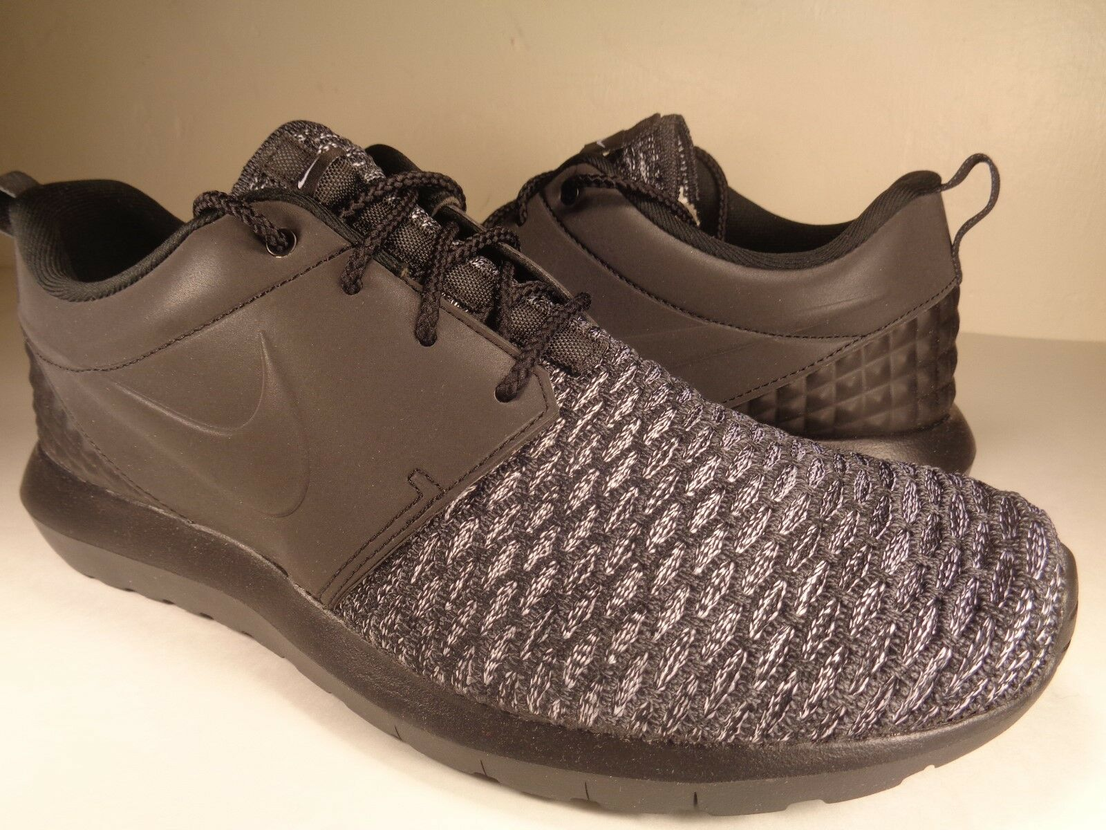 Nike Roshe NM Flyknit PRM Reflective Dark Grey Black White Price reduction The most popular shoes for men and women