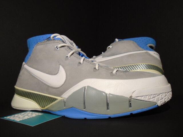 2006 Nike ZOOM KOBE I MINNEAPOLIS MPLS LAKERS 1 FLINT Gris blanc UNC Bleu 11.5
