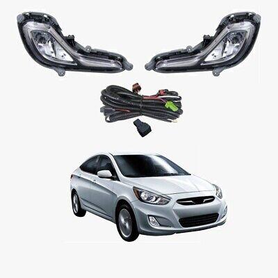 Fog Light Kit for Hyundai Accent RB 2011-2017 W/Wiring&Switch | eBay | Hyundai Accent Fog Light Wiring Diagram |  | eBay