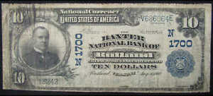 1902-10-National-Banknote-Third-Issue-Rutland-VT-1700-Currency