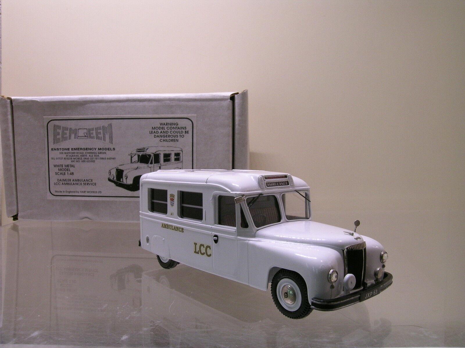 HART/ENSTONE MODELS DAIMLER AMBULANCE LCC AMBULANCE SERVICE BOXED 148