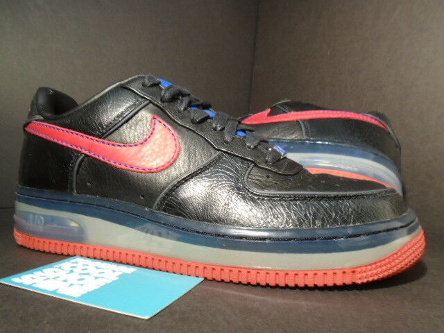 2007 Nike Air Force 1 SUPREME MAX 07 PARIS schwarz rot ROYAL Blau 316666-061 7.5