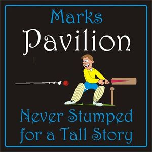 Personalised-cricket-SIGN-shed-man-cave-plaque-200mm-x-200mm-rigid-xmas-gift