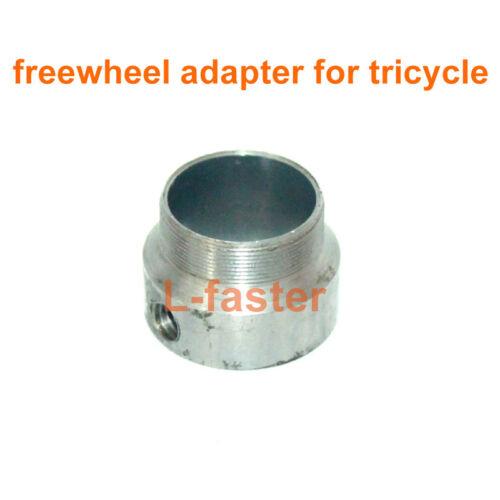 DIY Electric Bike Spare Freewheel Adapter Tricycle No Teeth Flywheel Connector