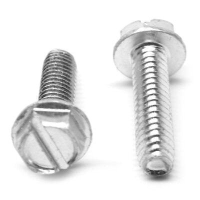 Thread Cutting 1//4-20x1-1//4  Hex Washer Head Bolt Screws  1//4 x 1-1//4 250
