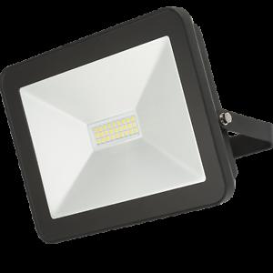 Knightsbridge Ultra-Slim 230 V 10 W IP65 noir en aluminium moulé projecteur Garde
