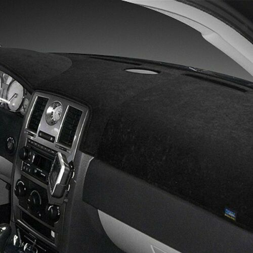 For Chevy C1500 Suburban 92-94 Dash Designs Brushed Suede Black Dash Cover