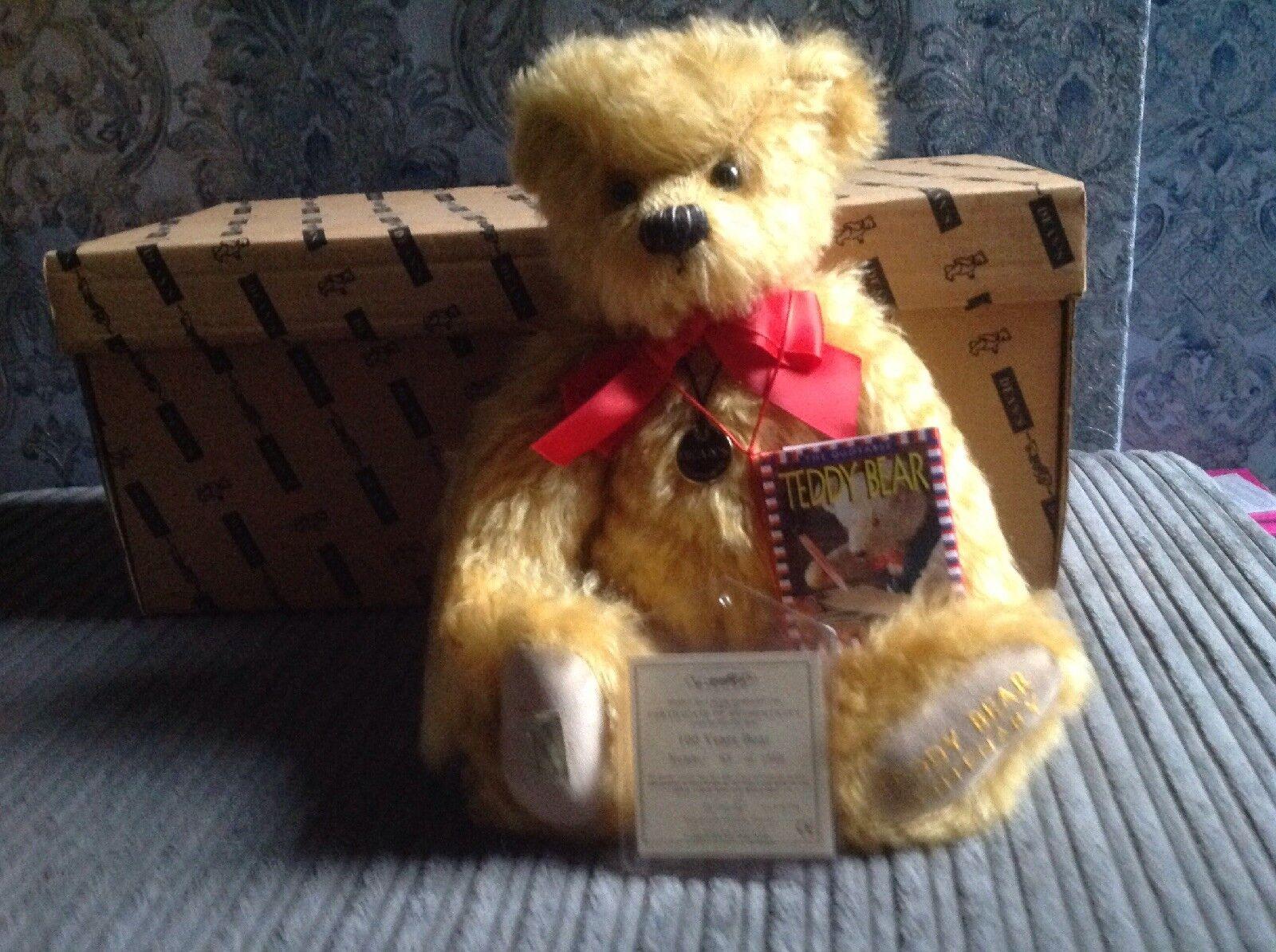 DEANS 100 anni orso, orsetto centenario.