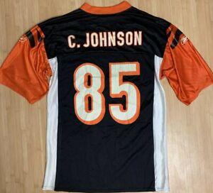 Details about Chad OCHOCINCO Johnson Cincinnati Bengals Black Authentic Jersey Reebok medium m