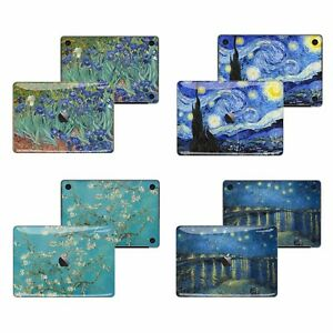 the latest 06eb2 34a87 Details about Macbook Pro Air 13 15 Skins case Sticker Decal Van Gogh  starry night Art FSM-TB