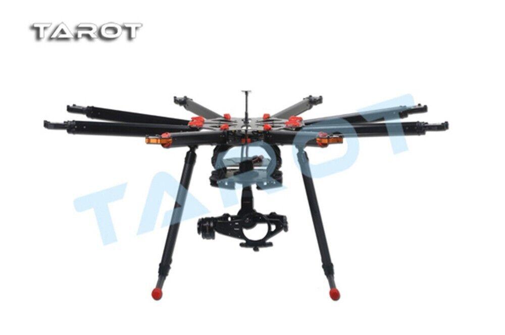 Tarot - 88 8 aixs octocopter falten rahmen kit tl8x000 w   einstellbare fahrwerk