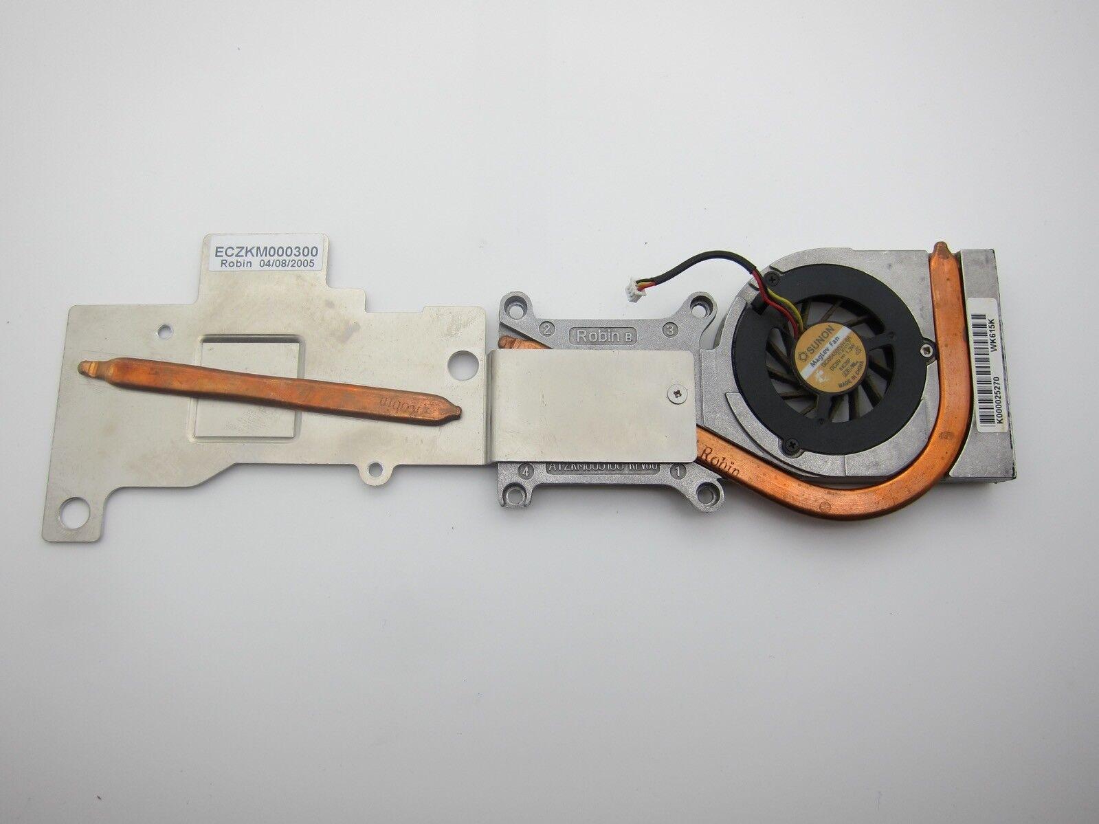 Toshiba Satellite m40 Laptop CPU Cooler Heatsink Thermal Module k000025270
