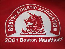 April 2001 Adidas 105th B.A.A. BOSTON MARATHON (LXLG) Running Jacket RED