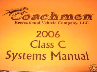 2006 Coachmen Systems Manual Freedom 258 DB EBay