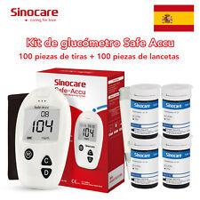 10-100Kit Medidor de glucosa en sangre para prueba azúcar en la sangre...