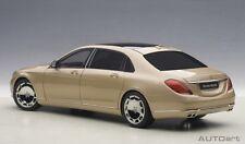 1/18 AUTOart - Mercedes Maybach S-Klasse 600 Champagne Gold