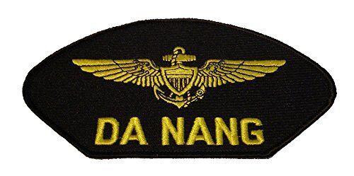 USN NAVY NAVAL AVIATOR PILOT WINGS DA NANG VIETNAM VETERAN PATCH PILOT