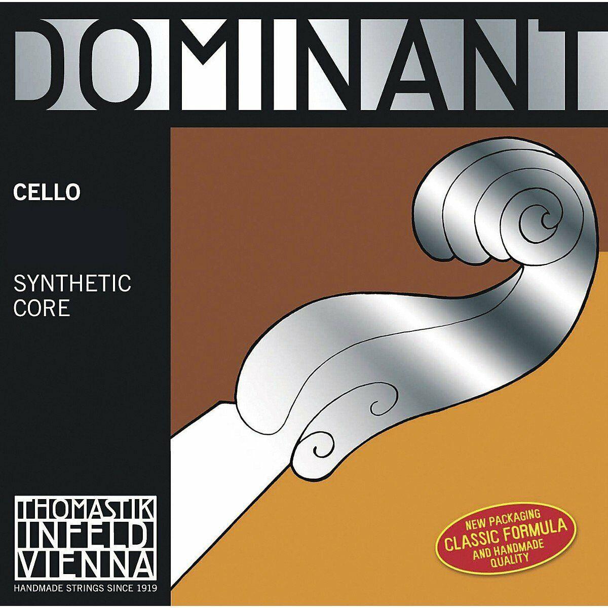 Thomastik Dominant 1 2 Größe Cello String Set.Medizin.Ga.