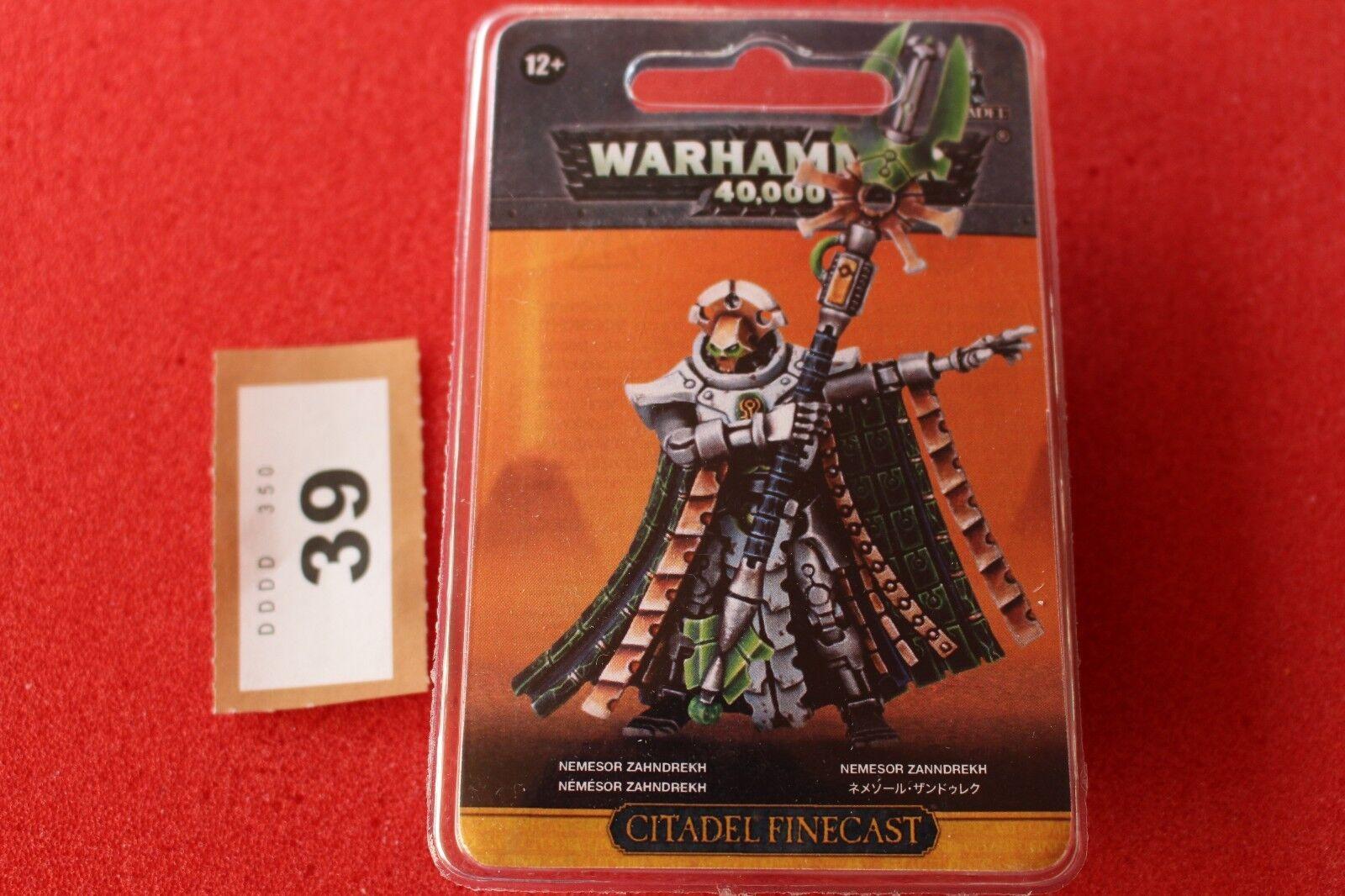 Games Workshop Warhammer 40k Necrons Nemesor Zahndrekh BNIB New Finecast WH40K