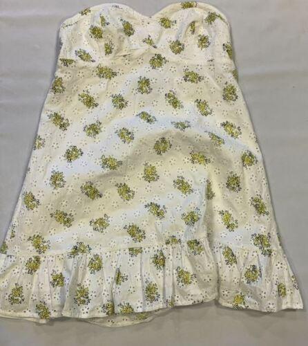 Jack Wills Gracie Mini Dress Ladies White UK 14 *REFNCN