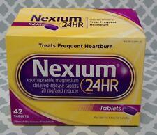 Nexium 24hr Esomeprazole 20 mg Acid Reducer 42 Tablets