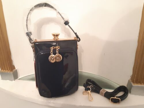 Handbag Fast Rectangler Ladies Blue Delivery Designer Clouser Shape Clasp A0xw5qg