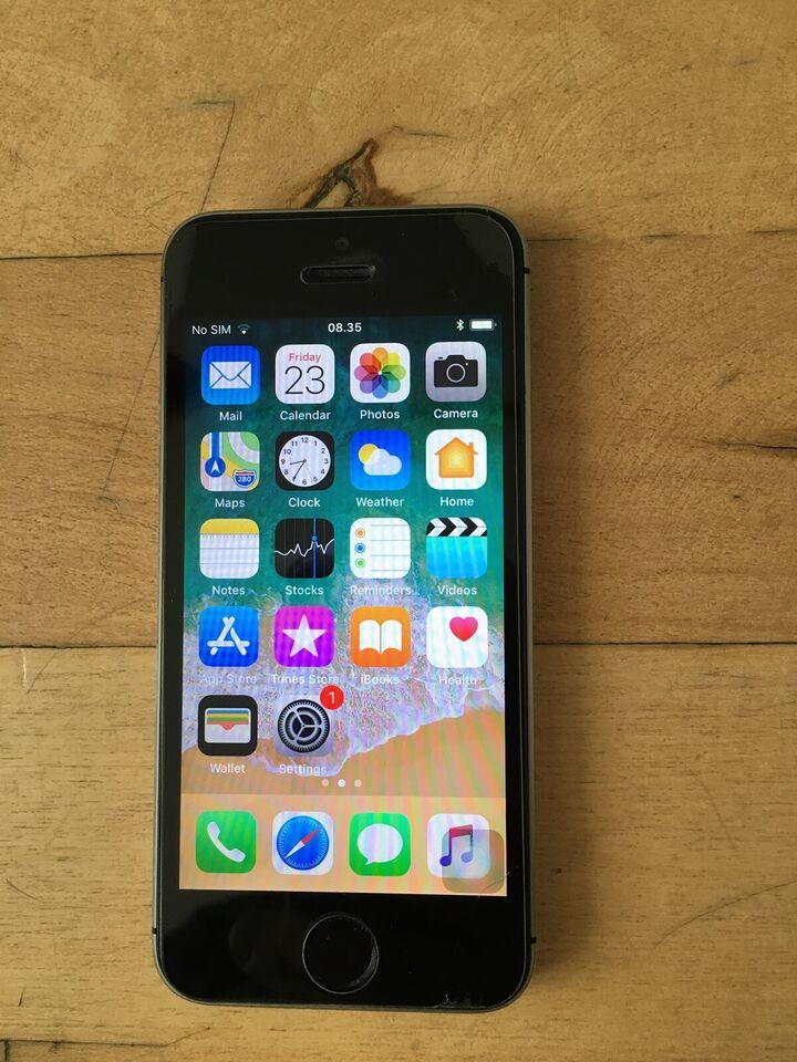iPhone 5S, 32 GB, grå