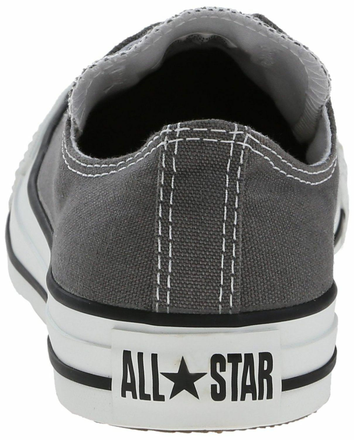 Converse Chuck Taylor All Star White Charcoal White Star Ox Lo Unisex Trainers Shoes 9a08b9