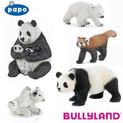 PAPO Choice of 17 with Tags BULLYLAND Wild Animal Kingdom BEARS and PANDAS