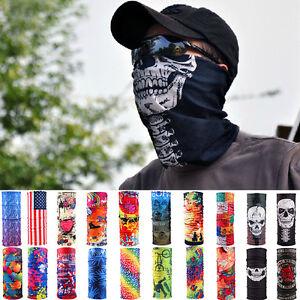 Head Face Mask Bandanas Neck Gaiter Snood Headwear Tube Scarf For ... 044a0a516