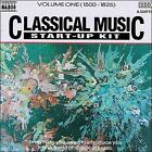 Classical Music Start-Up Kit, Vol. 1 (1500-1825) (CD, Jan-1996, Naxos (Distributor))