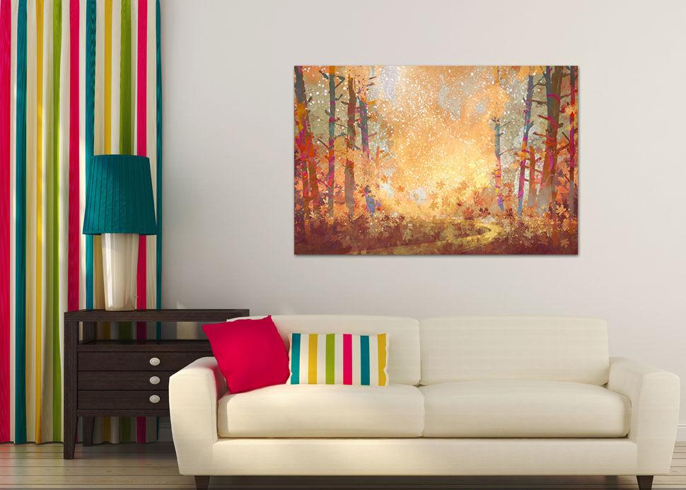 3D Firefly Farbe Flamme Wald 7  Fototapeten Wandbild BildTapete AJSTORE DE Lemon