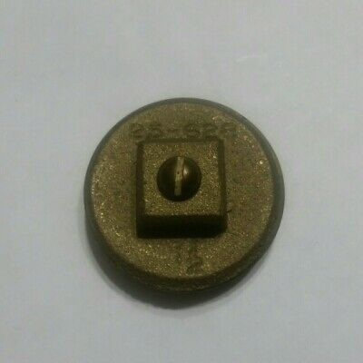 """LEE 4/"""" Brass Raised Nut Clean-Out Cover 25-628"""