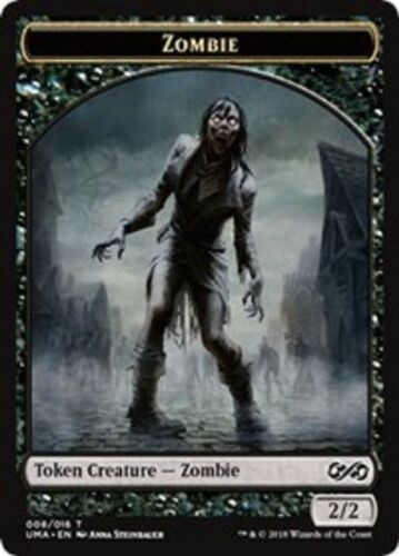 *ULTIMATE MASTERS* ZOMBIE TOKEN X4 NM