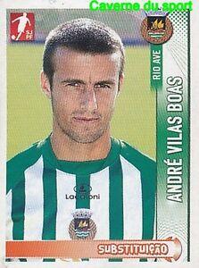 231B ANDRE VILAS BOAS PORTUGAL RIO AVE.FC STICKER FUTEBOL 2009 PANINI