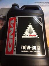 1 GALLON PRO HONDA GN4 ATV MOTORCYCLE OIL 10W-30 SJ 08C35-A131L01 HONDA OIL