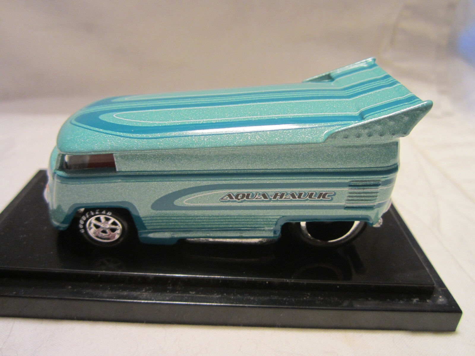 Hot Wheels Liberty Promotions Aqua-Haulic VW Drag Bus   185 1300