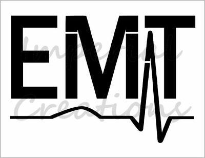 "Paramedic Patch EMT Medical 8.5/"" x 11/"" Custom Stencil FAST FREE SHIPPING"