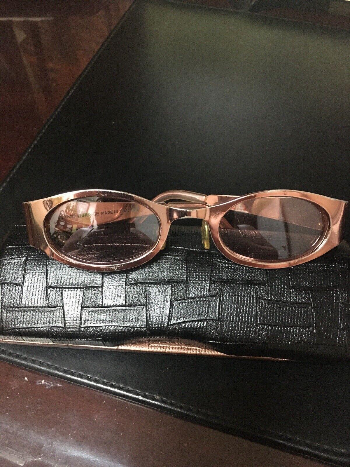 Gianni Versace VINTAGE Italy Sunglasses VERY GOOD… - image 1
