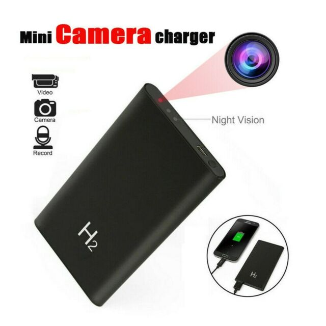 "Mini Security Wireless /"" Hidden Cameras Spy HD 1080P 5000mAh Power Bank Camera"