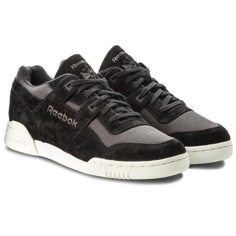 Reebok Workout plus NT bs9705 calcetines cortos zapatillas calzado deportivo negro nuevo