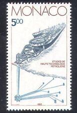 Monaco 1983 Oil/Minerals/Ships/Industry/Commerce/Energy/Transport 1v (n38701)