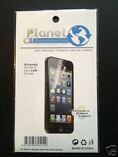 NEW iPhone 5 Anti Glare Matte Finish Screen Protector Cloth Cleaner LCD Guard