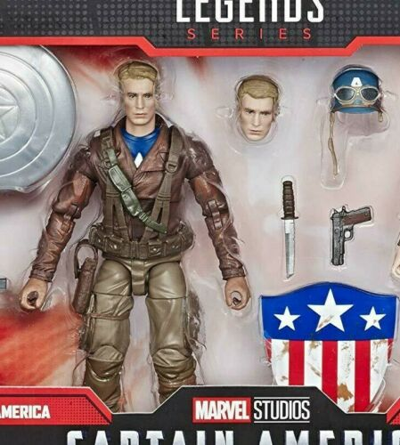 """Marvel Legends 6/"""" MCU 80 Years Captain America First Avenger Exclusive Loose"""