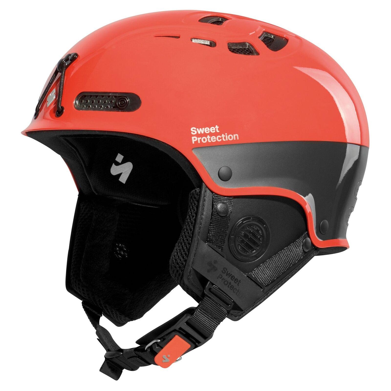 Sweet Predection Igniter Alpiniste II Ski Helmet - Gloss Cody orange