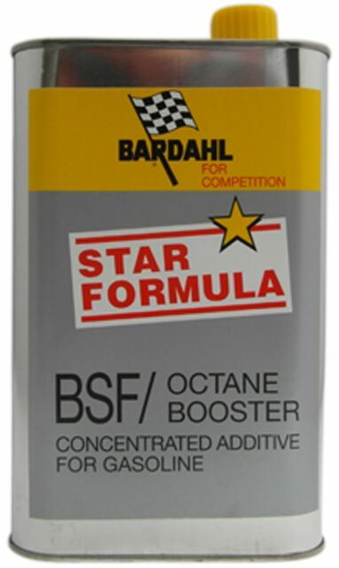 ADDITIVO BARDAHL BSF OCTANE BOOSTER LT.1 - star formula - FOR COMPETITION -